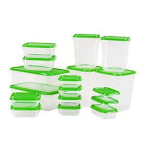 IKEA Pruta Set 17 Pcs, Food Container