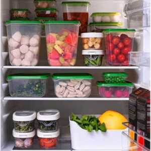 IKEA Pruta Set 17 Pcs, Food Container
