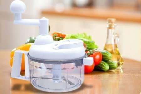 Swift Chopper Food Processor: Alat Pemotong Sayur, Bumbu, dan Buah