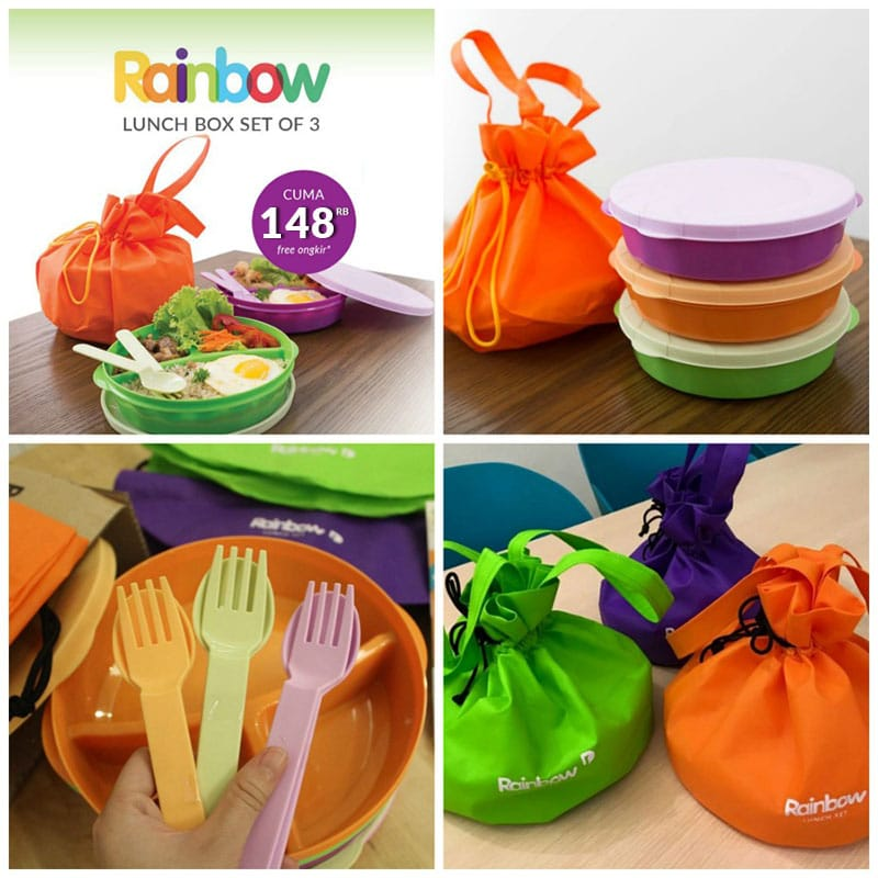 [SPECIAL] Rainbow Lunch Set Waiting List 2