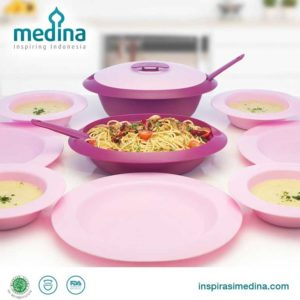 Amethyst Serve and Dine Set