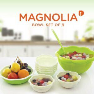 Magnolia Bowl Set of 9