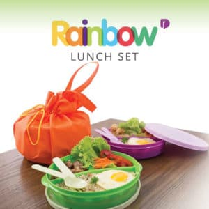 Rainbow Lunch Set 3 Pcs