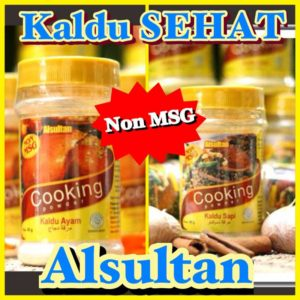 Kaldu Ayam/Sapi Alsultan Paket 6 Botol, No MSG, No Pengawet