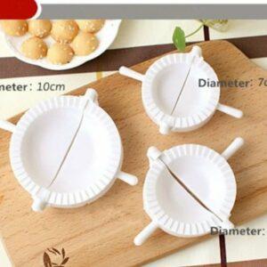 Dumpling Mold Set 3 Pcs - Cetakan Pastel, Pangsit, Dumpling