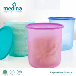 Azalea Round Snack Container (Set of 3)