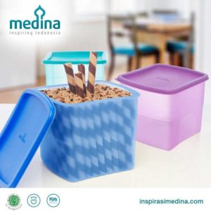 Azalea Square Snack Container (Set of 3)