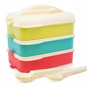 Tropic Snap 'N Stack lunch set