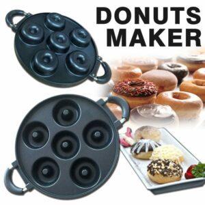 Cetakan Donat 6 Lubang, Donut Maker