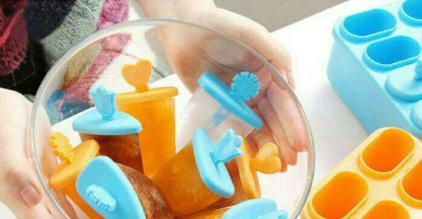 Cetakan Es Lolipop - Cetakan Es Lilin Kotak
