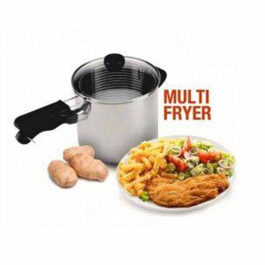 Spring Multi Fryer 2 in 1, Deep Fryer 18 cm, Untuk Menggoreng & Merebus