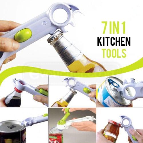 Pembuka Botol & Kaleng 6 in 1, Kitchen Can Do