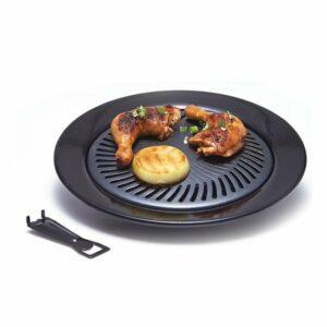 Maxim® Ultra Grill Full Set 25cm - Alat Panggang BBQ, Teflon