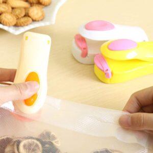 Portable Mini Sealer - Alat Perekat Plastik/Snack dengan Magnet