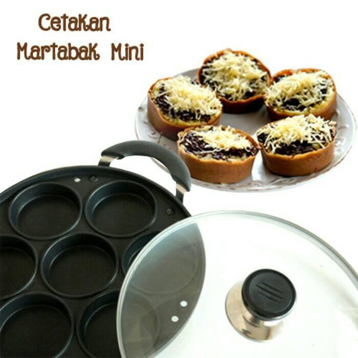 GSF/Happy Call Cetakan Martabak Mini 7 Lubang, Snack Maker