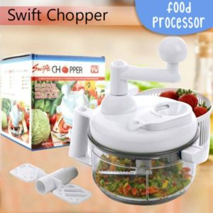 Swift Chopper Food Processor: Alat Pemotong Sayur, Bumbu, dan Buah