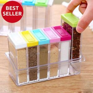 Seasoning Set 6 Pcs - Tempat Bumbu 6 in 1