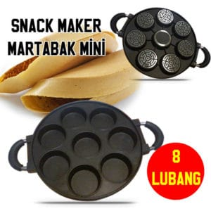 GSF/Happy Call Cetakan Martabak Mini 8 Lubang, Snack Maker