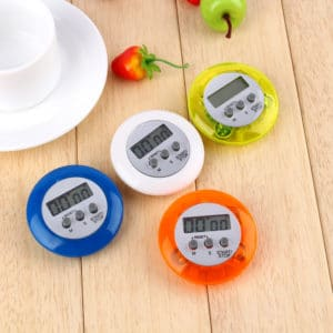 Digital Mini Kitchen Timer, Multi Color