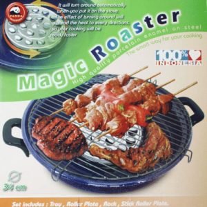 Magic Roaster Enamel 34cm - Alat Pemanggang Serbaguna