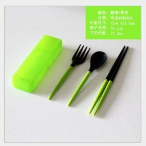 LHS Set Alat Makan Portable - Sendok, Garpu, Sumpit