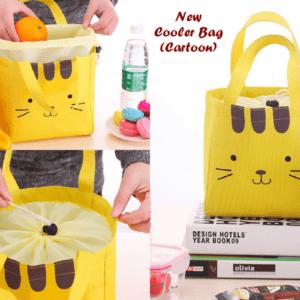 Lunch Bag - Cooler Bag, Motif Cute Face