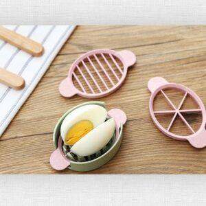 3 Way Egg Slicer - Alat Pemotong Telur 3 Variasi