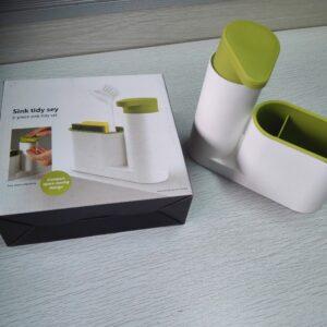 Home · Kotak Rak Tempat Bumbu Garam Merica Plastik Transparan 6 In 1; Page -