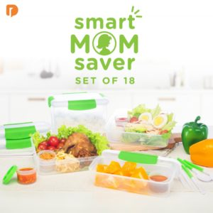 Smart Mom Saver Set of 18