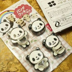 Biscuit & Cookies Mold - Cute Panda 4 in 1