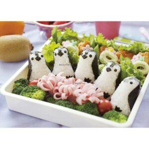 Cetakan Nasi Bento Pinguin