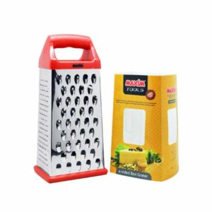Maxim 4 Side Box Grater - Parutan 4 Sisi Stainless Steel