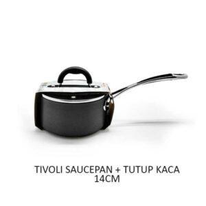 Tivoli Saucepan 14cm Anti Lengket + Tutup