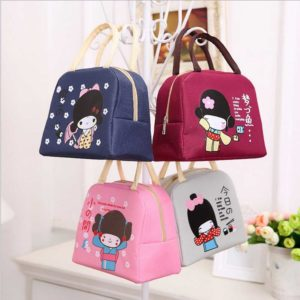 Iconic Insulated Lunch Bag Japanese Girl