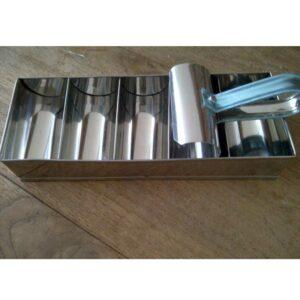 Cetakan Lemper 5 Lubang Stainless Steel