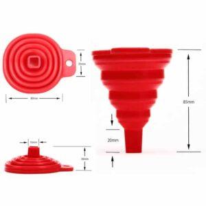 Foldable Funnel S, Corong Silikon Lipat