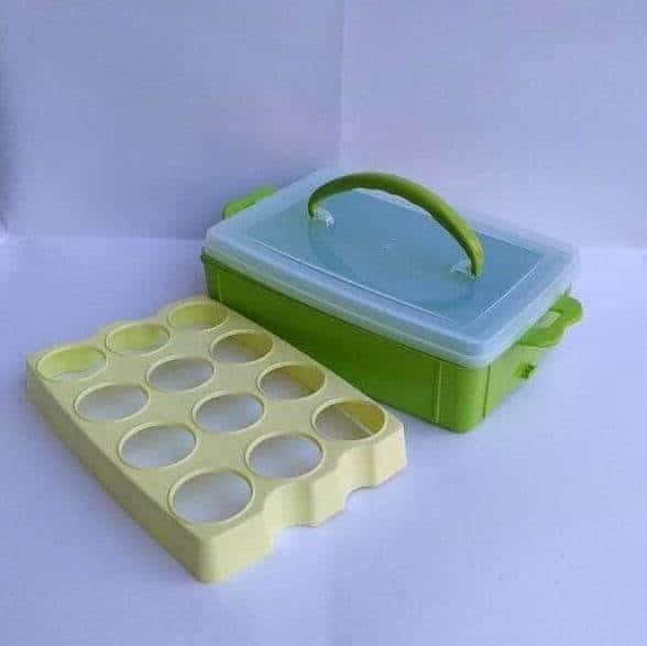 GS Egg Box 12 Grid - Kotak Telur 12 Lubang
