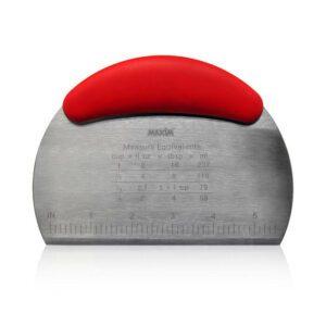 Maxim Tools Pemotong Adonan - Stainless Steel Dough/Pastry Scrapper