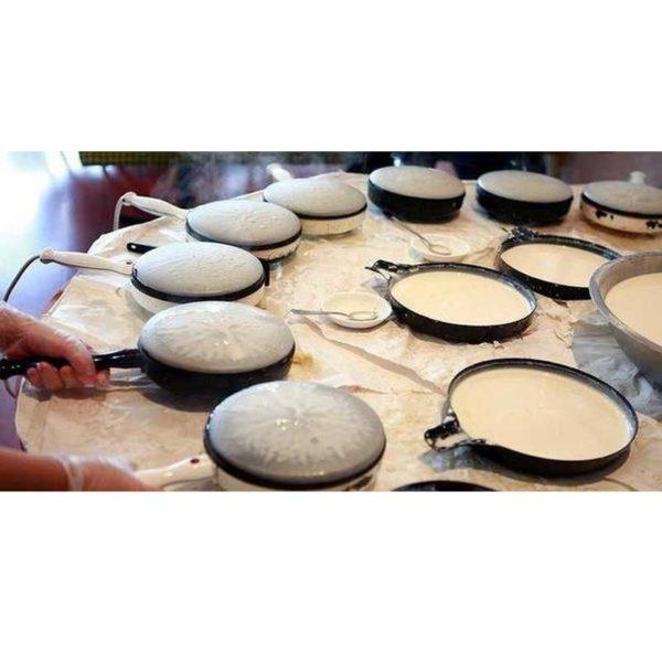 Bistro Multi Creper Pan - Wajan Kwalik Membuat Crepes Kulit Lumpia