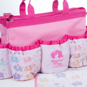 Mommy And Me Elephant Baby Bag Set of 3