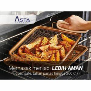 **Limited Stock** Asta Crisper - Alat Panggang - Transform Oven Into an Air Fryer