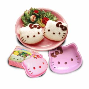 Cetakan Roti Bento Hello Kitty
