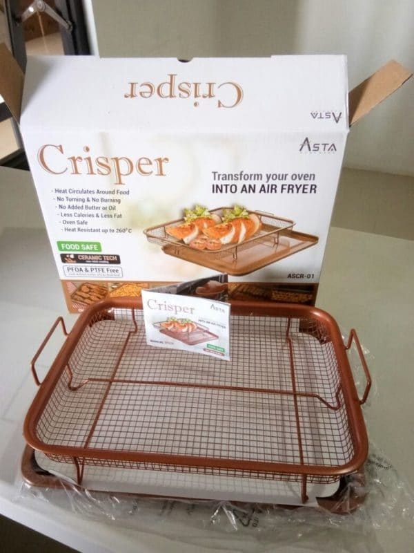 **Limited Stock** Asta Crisper - Transform Your Oven Into an Air Fryer