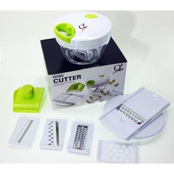 Q2 Mini Cutter P-202 Full Set, Food Chopper and Manual Food Processor