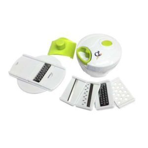 Q2 Mini Cutter P-202 Full Set, Food Chopper and Manual Food Processor