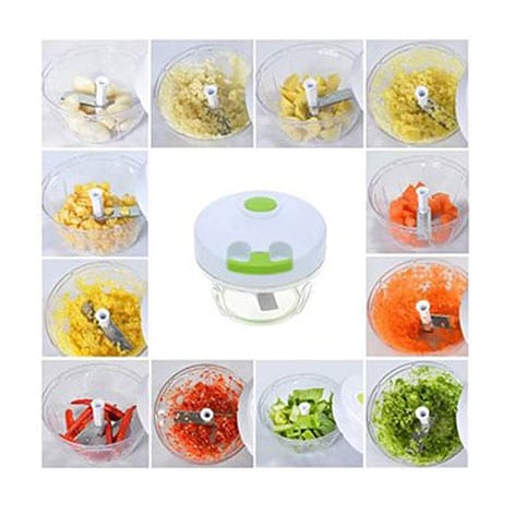 Q2 Mini Cutter P-201 - Food Chopper and Manual Food Processor