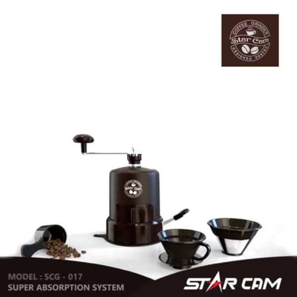 StarCam Portable Coffee Grinder - Penggiling Kopi Manual