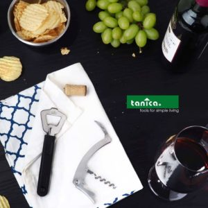 Tanica Wine Opener Set 2 Pcs - Wine Lovers
