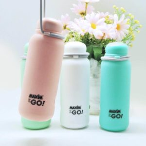 Maxim On The Go Trendy Class Beaker 300ml - Botol Minum