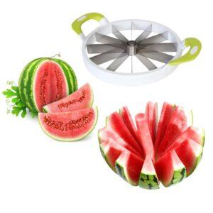 Watermelon Cutter Rubber Handle, Pemotong Semangka/Melon